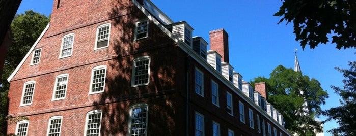 Massachusetts Hall is one of Boston.