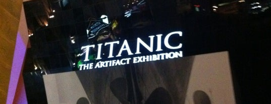 Titanic: The Artifact Exhibition is one of Entertain Me at the Pyramid!.