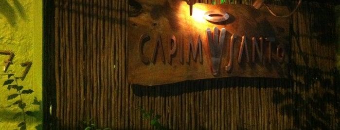 Capim Santo is one of Restaurants.