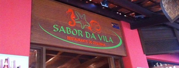 Sabor da Vila - Restaurante do Zequinha is one of Tempat yang Disukai Victor.