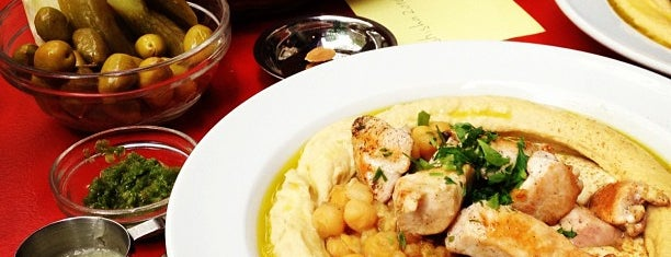 Zula Hummus Café is one of Berlin.