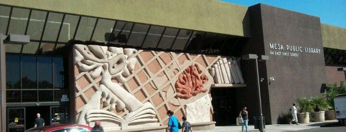 Mesa Public Library is one of Locais curtidos por Shauna.