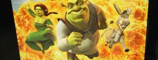 Shrek's 4-D Adventure is one of Universal Studios Japan.