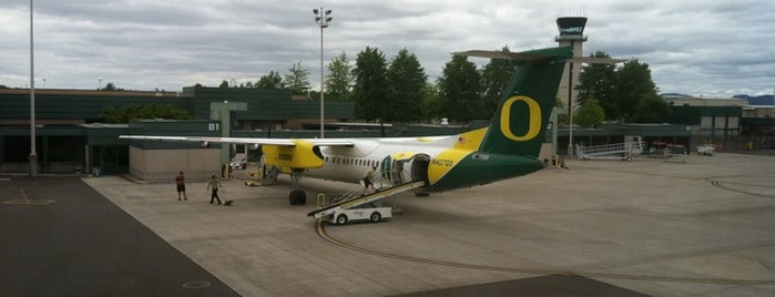Eugene Airport (EUG) is one of Airports in US, Canada, Mexico and South America.