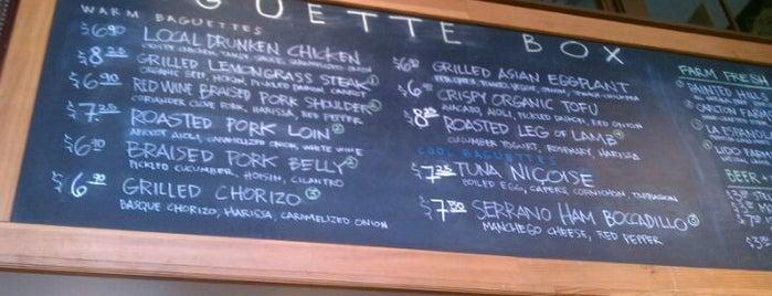 Baguette Box is one of Seattle Met's Best Cheap Eats 2011.