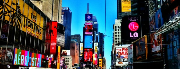 Times Square is one of New York, NY.