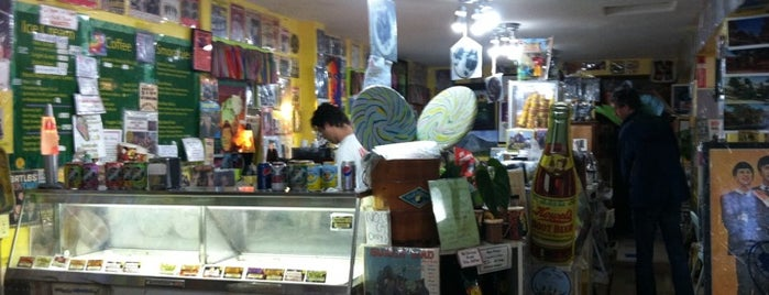 The Ice Cream Shoppe is one of Monterey — the goods.