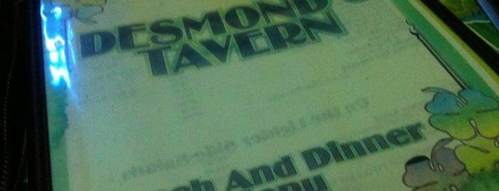 Desmond's Tavern is one of VaynerMedia: Where We Drink.