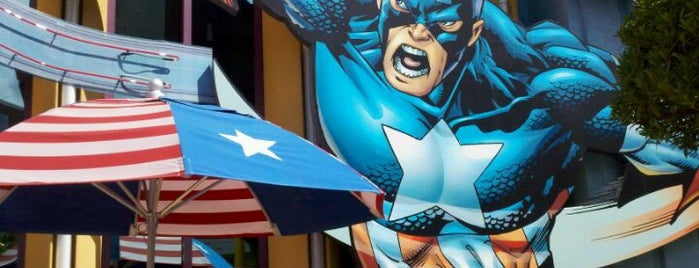 Captain America Diner is one of My vacation @Orlando.