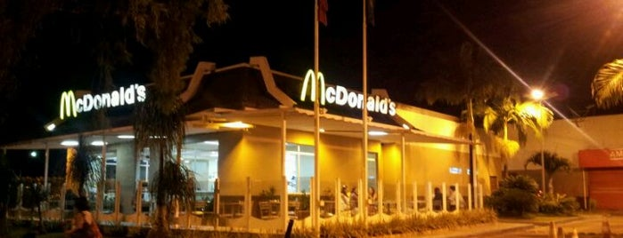 McDonald's is one of Mais lugares.