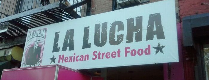 La Lucha - Tacos & Boutique is one of New York III.