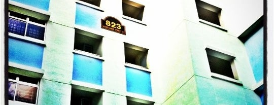 BLK 823 [HDB Apartment] is one of le 4sq with Donald :).