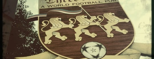 The Three Lions: A World Football Pub is one of Katherine 님이 저장한 장소.