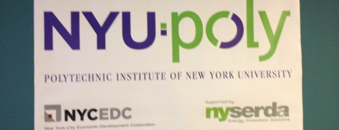 NYU-Poly Varick Street Incubator is one of Silicon Alley, NYC.