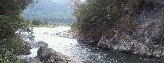Rio caunahue is one of Patagonia (AR).