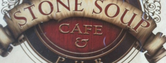 Porter's Stone Soup Cafe & Pub is one of Lugares guardados de Jeremy.