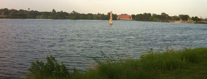 Woodlawn Lake Park is one of StorefrontSticker #4sqCities: San Antonio.