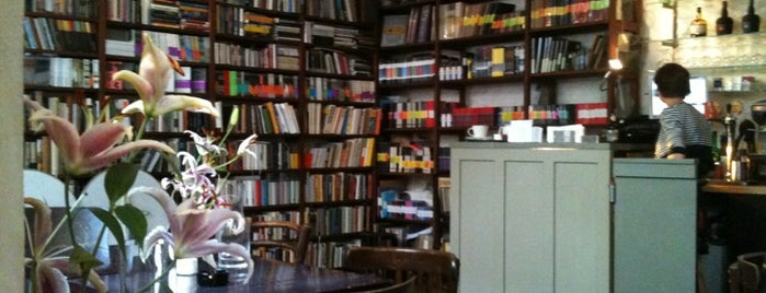 Café Fra is one of Best bookstores in Prague.