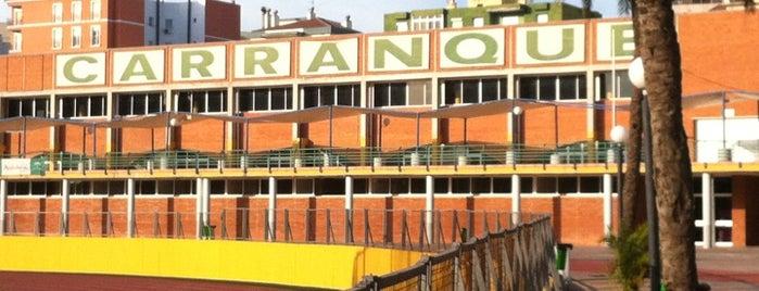Ciudad Deportiva Carranque is one of Pistas de pádel en Málaga.