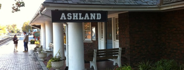 Ashland Amtrak Station (ASD) is one of Richmond to NY via amtrak.