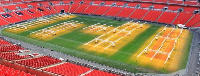 Wembley Stadium is one of London Favorites.