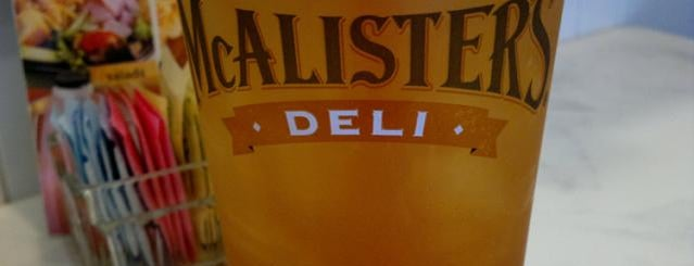 McAlister's Deli is one of Most Frequent stops in Charlotte..