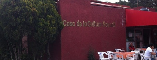 Casa de Cultura del Parque Naucalli is one of Locais curtidos por René.
