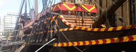 The Golden Hinde is one of London City Guide.