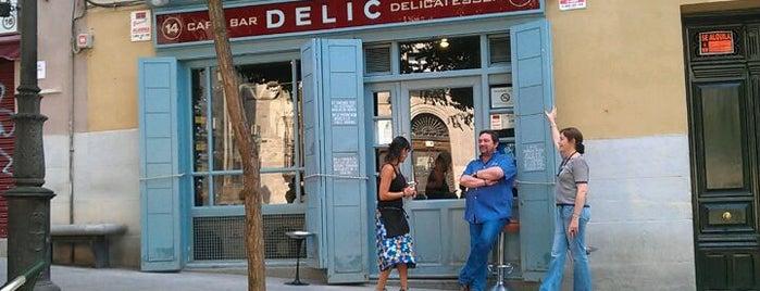 Café Bar Delic is one of ¡Mmmmmadrid!.