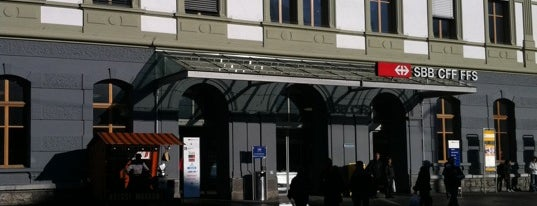 Stazione di Briga is one of My Switzerland Trip'11.