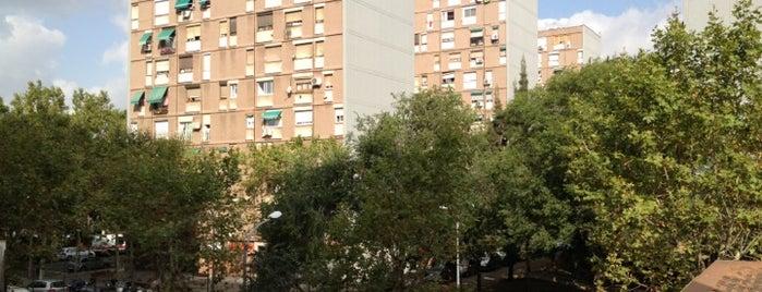 Rambla de Prim is one of barri besos mar poble nou.
