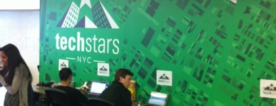 Techstars HQ is one of Silicon Alley.