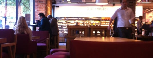 Pret A Manger is one of Food & Drink to check out.