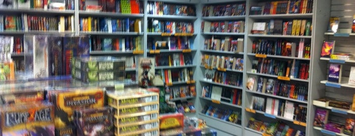 Forbidden Planet is one of Geeky hangouts.