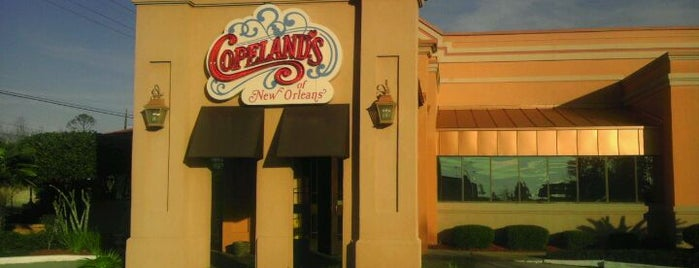 Copeland's is one of Locais curtidos por Kate.