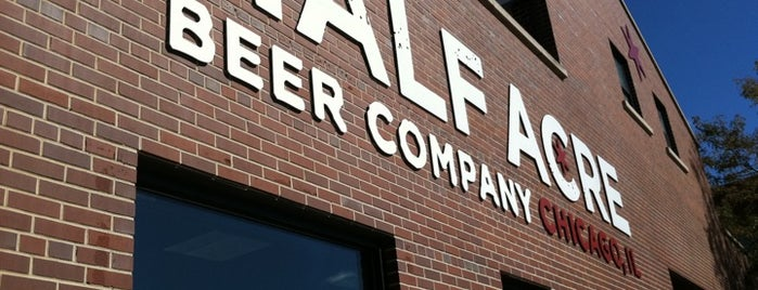 Half Acre Beer Company is one of Chicago (Never been).