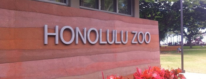 Honolulu Zoo is one of Oahu: The Gathering Place.