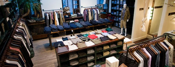 Steven Alan Outpost - Upper West Side is one of NYC Men's Shops.