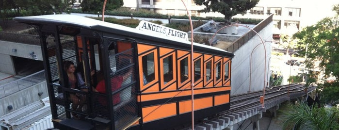 Angels Flight Railway is one of SoCal Musts.