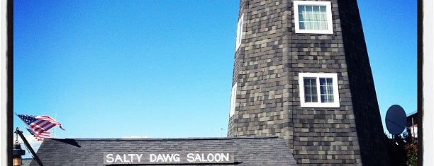 Salty Dawg Saloon is one of Daily Meal Best Bars 2015.