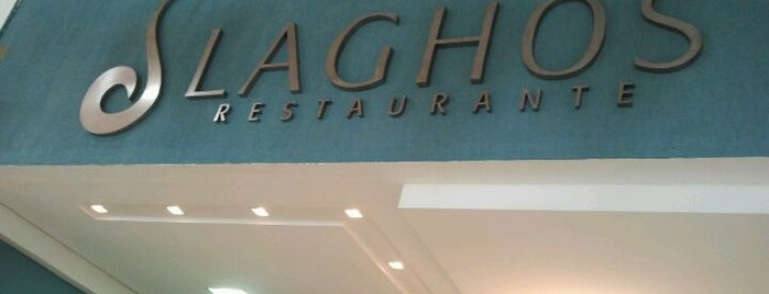 Laghos Restaurante - Angeloni is one of Lugares favoritos de Bruno.