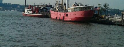 Lightship Frying Pan is one of David's New York favourites.