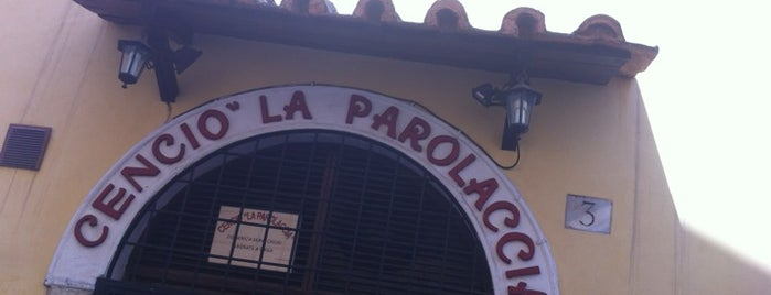 Cencio La Parolaccia is one of Viagem.