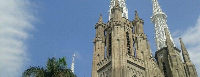 Gereja Katolik Katedral Jakarta is one of Jakarta. Indonesia.
