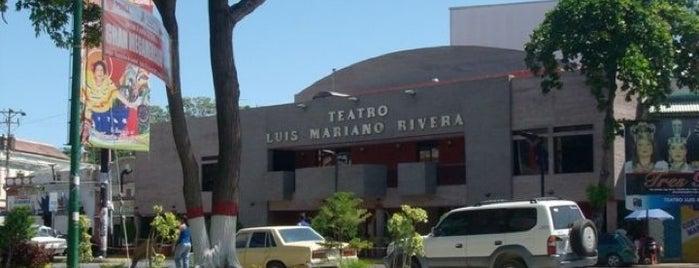 Teatro Luis Mariano Rivera is one of Sitios Históricos y Culturales de Cumaná.