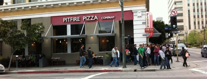 Pitfire Pizza is one of KCRW.