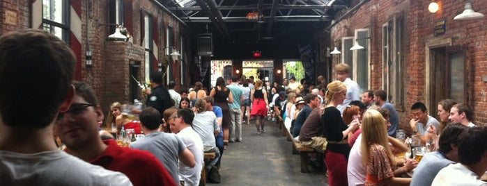 Radegast Hall & Biergarten is one of 20 Great Spots for a Summer Beer in NYC.