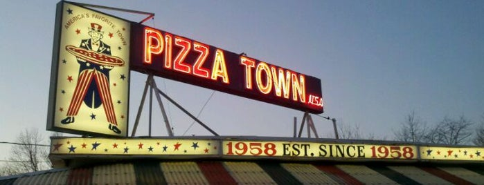 Pizza Town USA is one of One Bite, Everybody Knows The Rules 3.