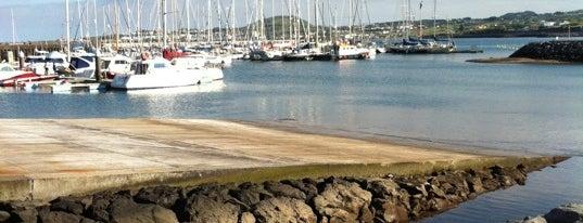 Marina da Praia da Vitoria is one of du lịch - lịch sử.