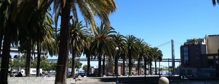 Embarcadero Plaza is one of San Francisco.